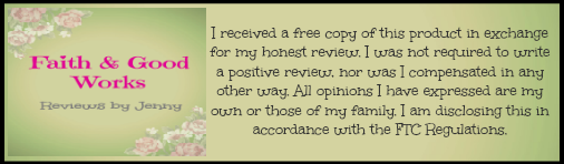 Reviews by Jenny ~ Faith & Good Works