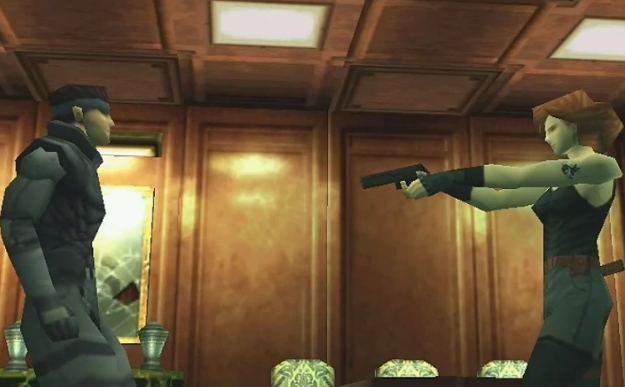 Metal Gear Solid - first 3D graphics