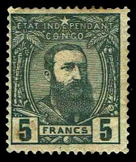 I887-94 Belgian Congo King Leopold II