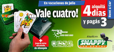 Vale 4 de Snappy Car Rental