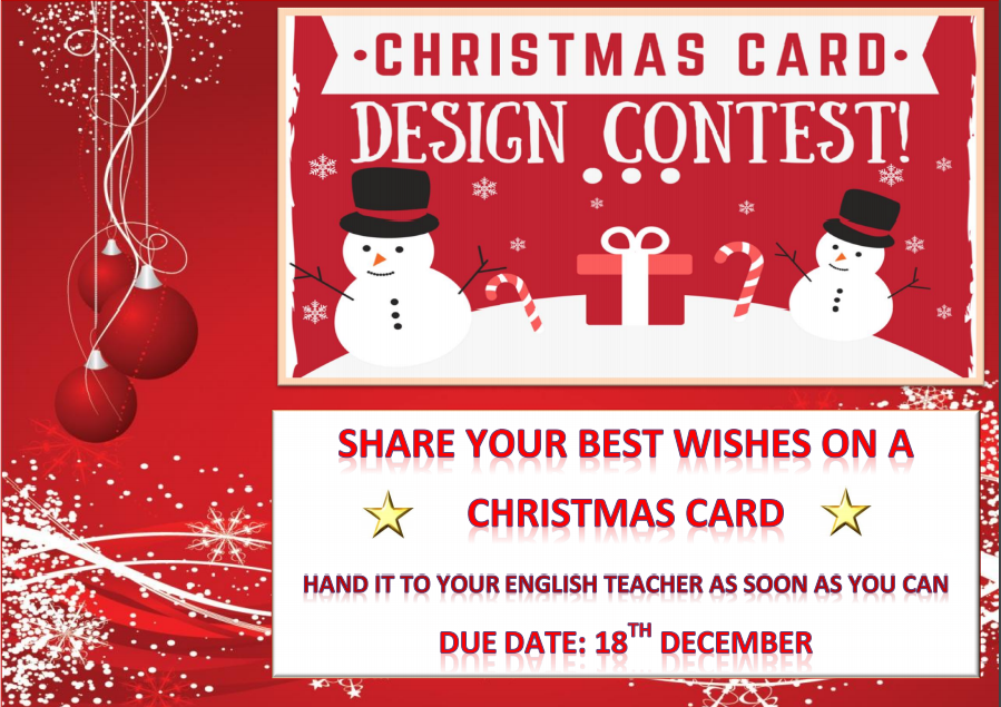 Beautiful Christmas Cards Design Contest 2017