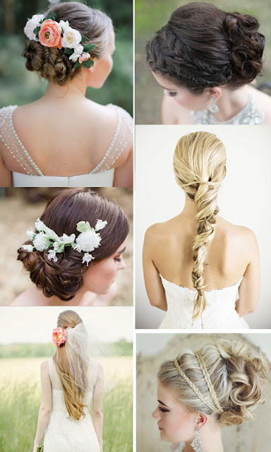 Perfect Bridal And Bridesmaid Hair Styles