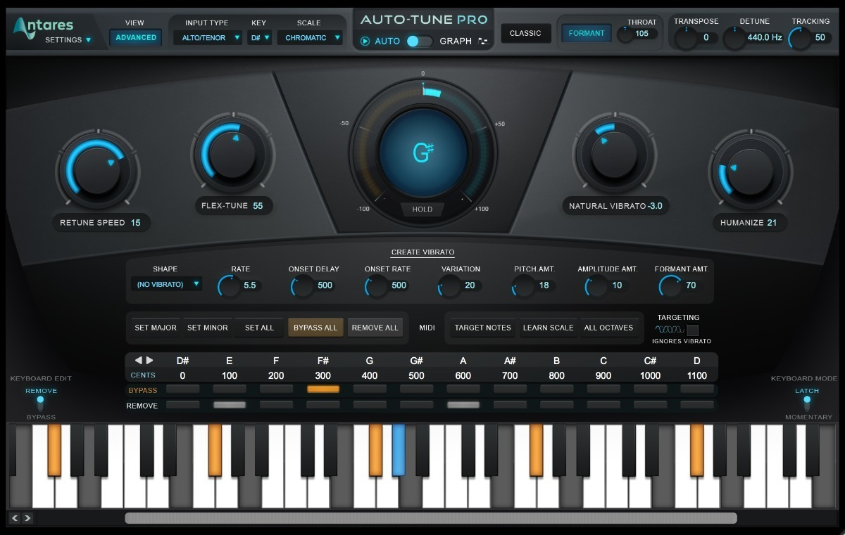 Auto-Tune Pro 9.1 + Ativação by Antares Windows & Mac Download