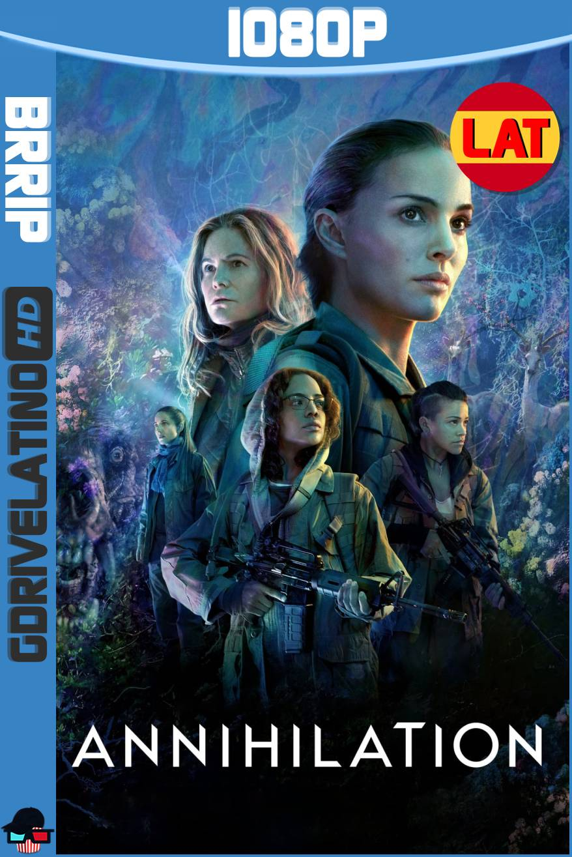 Aniquilación (2018) BRRip 1080p Latino-Ingles MKV