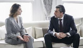 Testamentul lui Harun va fi citit. Dilara și Cihan vor afla de la avocați că Harun își vânduse acțiunile de la Grupul de firme ERG cu șase luni înainte.