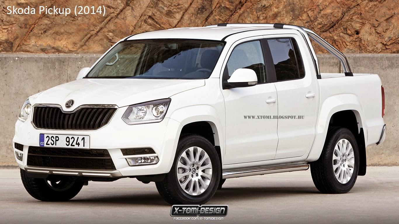 X Tomi Design Skoda Pickup 2014