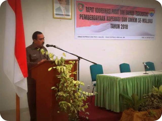 Dinas Koperasi dan UMKM Maluku Gelar Rakor Perencanaan Program Kegiatan di Piru