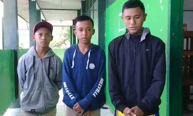Tiga Remaja yang Permainkan Gerakan Salat di Bone Akhirnya Meminta Maaf