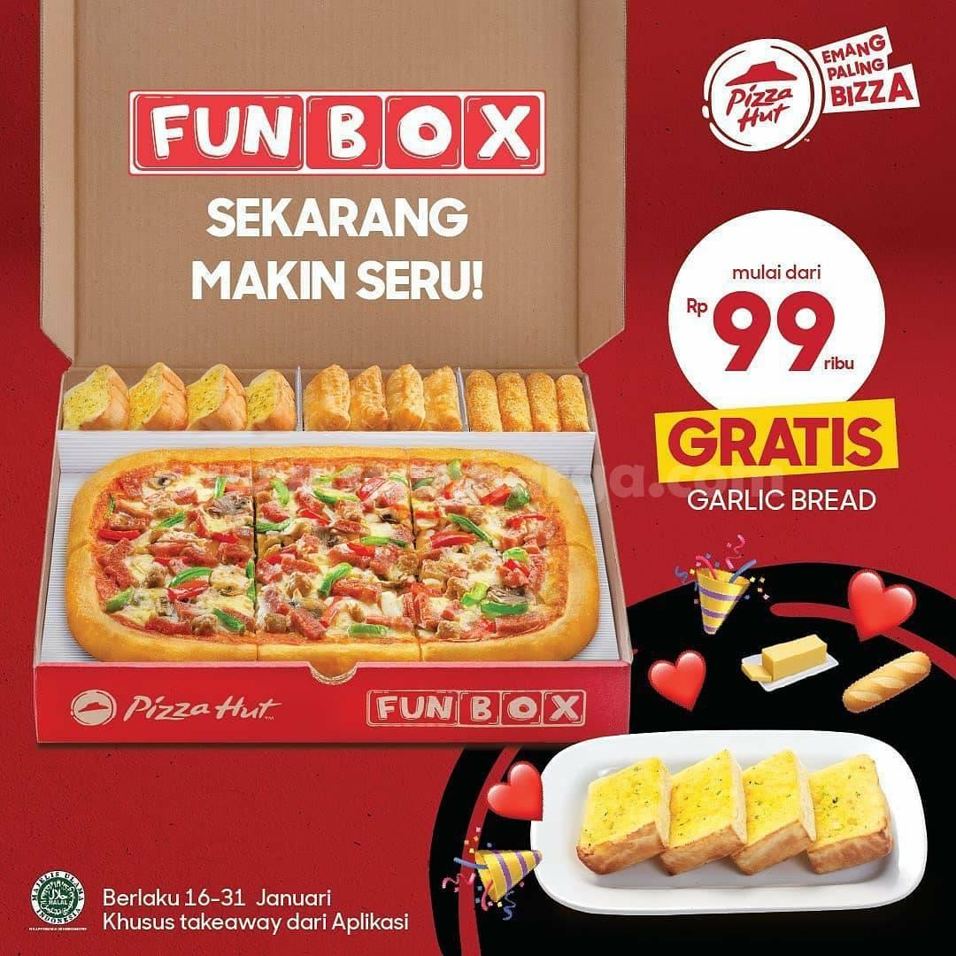 Promo PIZZA HUT Terbaru Periode 16 - 31 Januari 2021