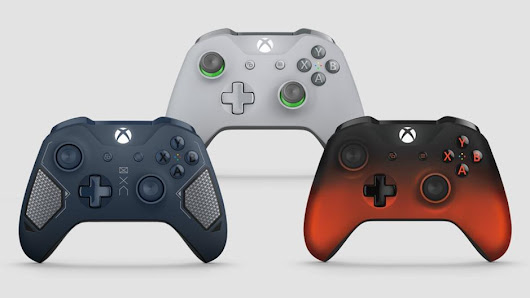 Microsoft's Unveiled Three New Xbox One Controllers