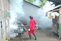 Tindak Lanjut Rapat dengan Wawali, Dikes Kobi Mulai Fogging di Sejumlah Wilayah