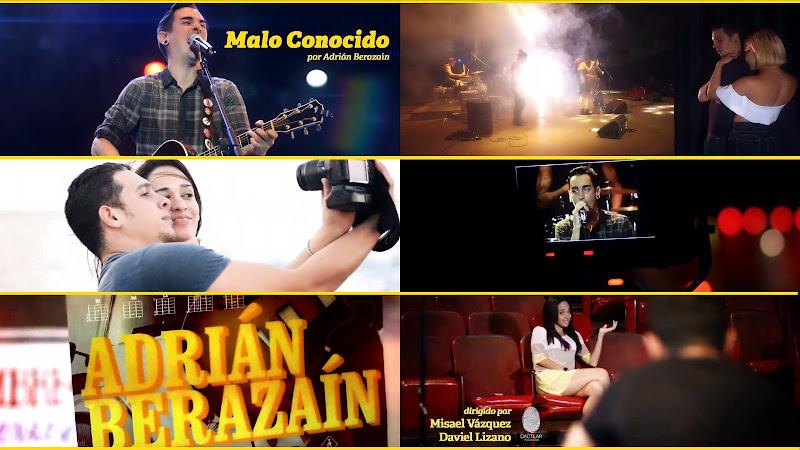 Adrián Berazaín - ¨Malo conocido¨ - Videoclip - Dirección: Misael Vázquez - Daviel Lizano. Portal Del Vídeo Clip Cubano