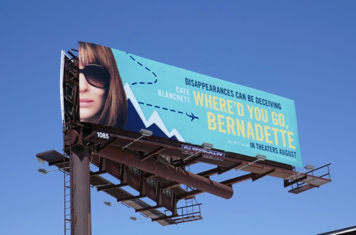 Whered You Go Bernadette film billboard