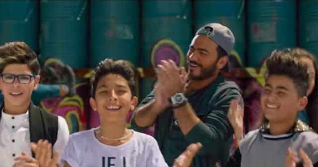 اجمل مقطع من اغنية (الله شاهد) من فريق تامر حسنى 2018