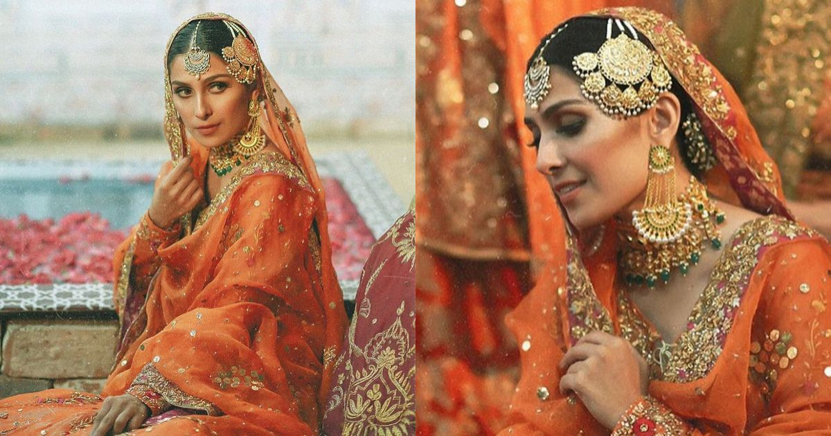 Bridal Photoshoot of Beautiful Ayeza Khan