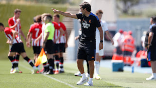 Terminamos la preparación con victoria. Real Madrid Castilla 1-0 Bilbao Athletic.