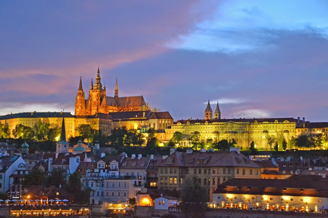 historia de Praga Castelo