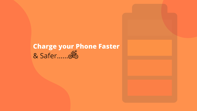 how to charge phone faster