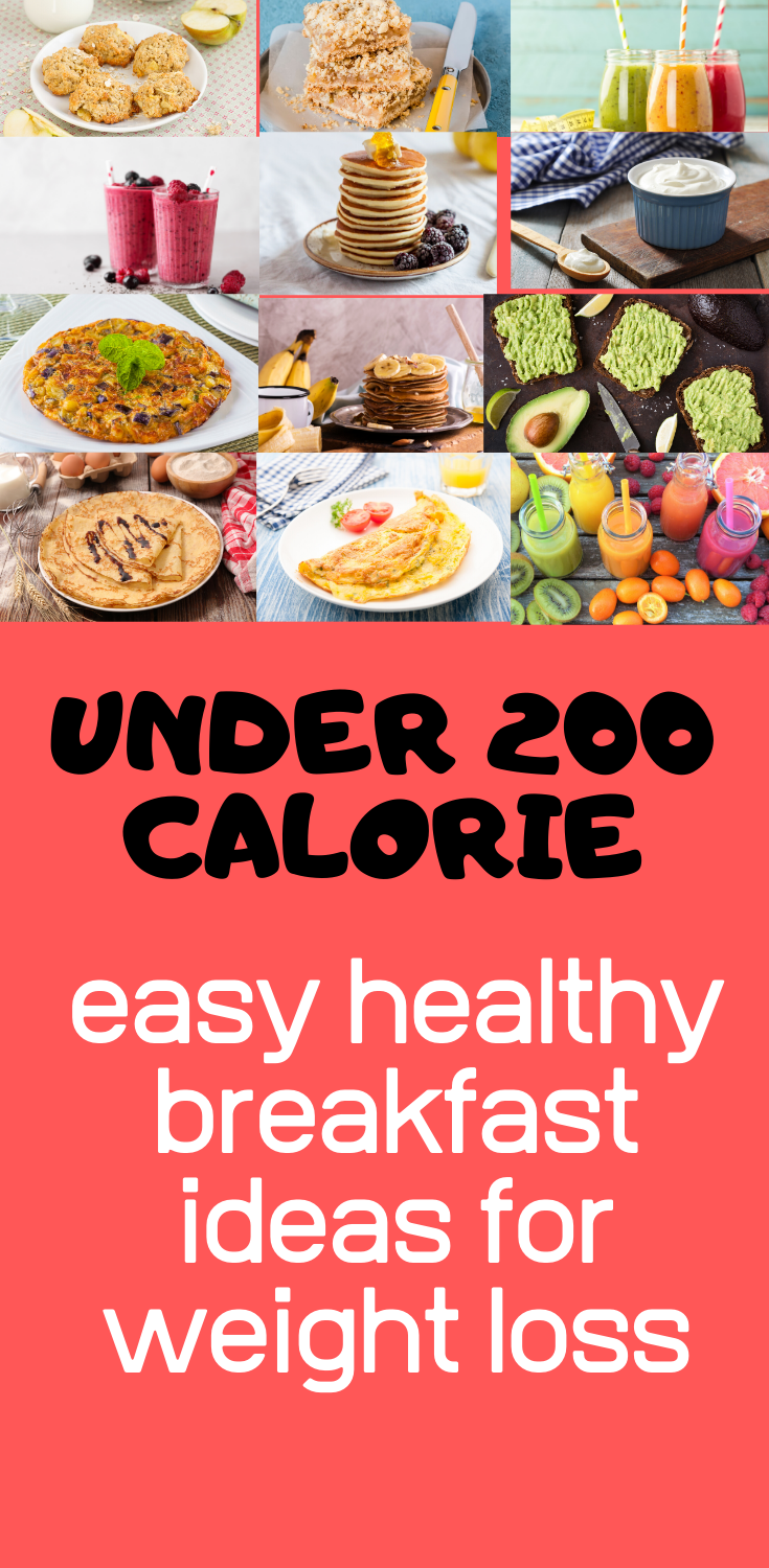 easy healthy breakfast for weight loss