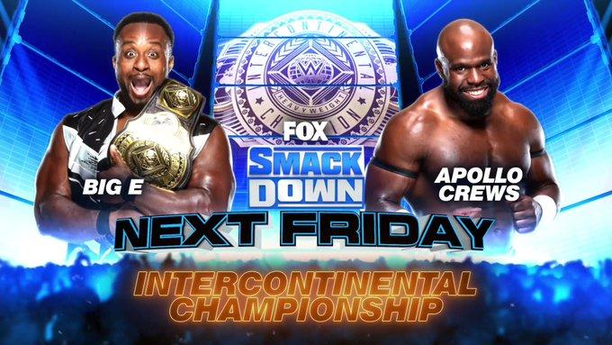 Apollo Crews disputará o WWE Intercontinental Championship