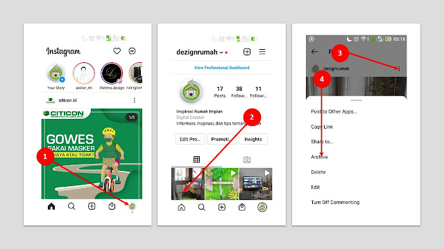 instagram, archive, instagram tutorial
