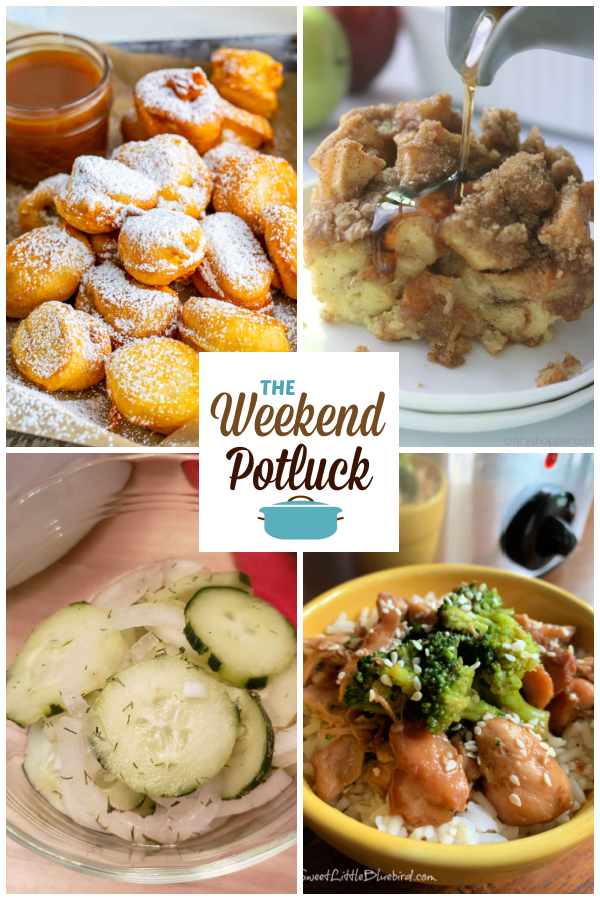 A virtual recipe swap with Banana Funnel Cake Bites, Overnight French Toast Casserole, Cucumber Onion Salad, Slow Cooker Teriyaki Chicken and dozens more!