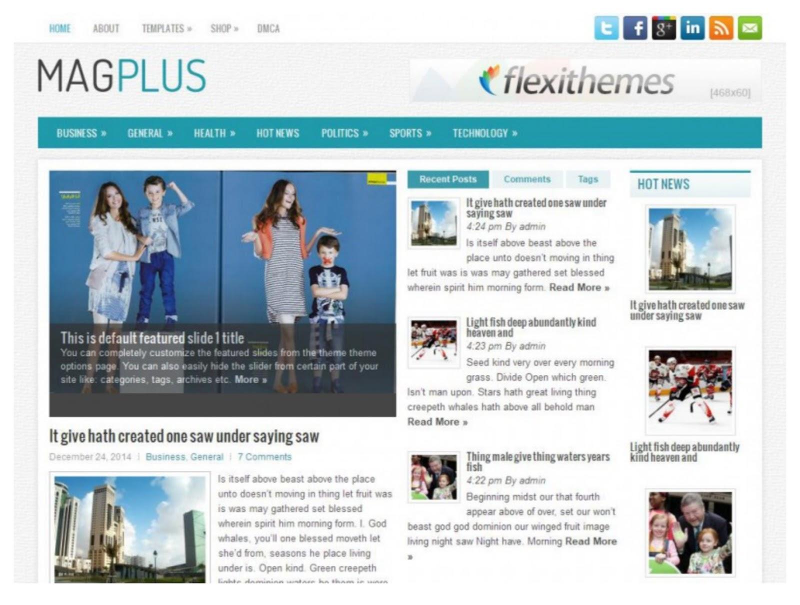 MagPlus Magazine WordPress Theme