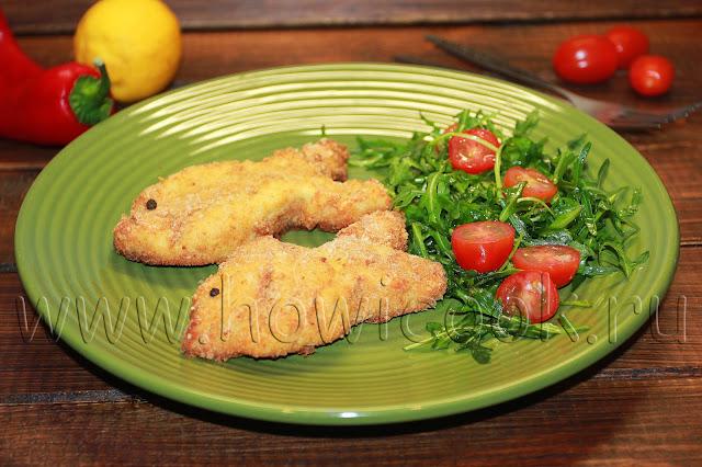 рецепт рыбных котлет для детей