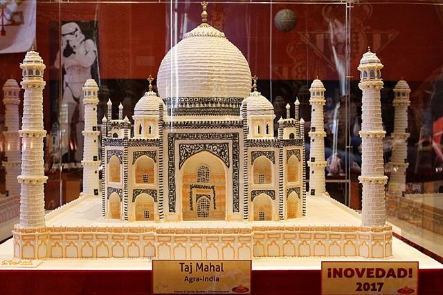 Taj Mahal en Azúcar