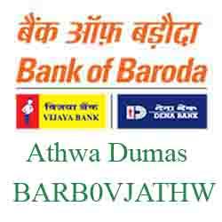Vijaya Baroda Bank Athwa Dumas Branch New IFSC, MICR
