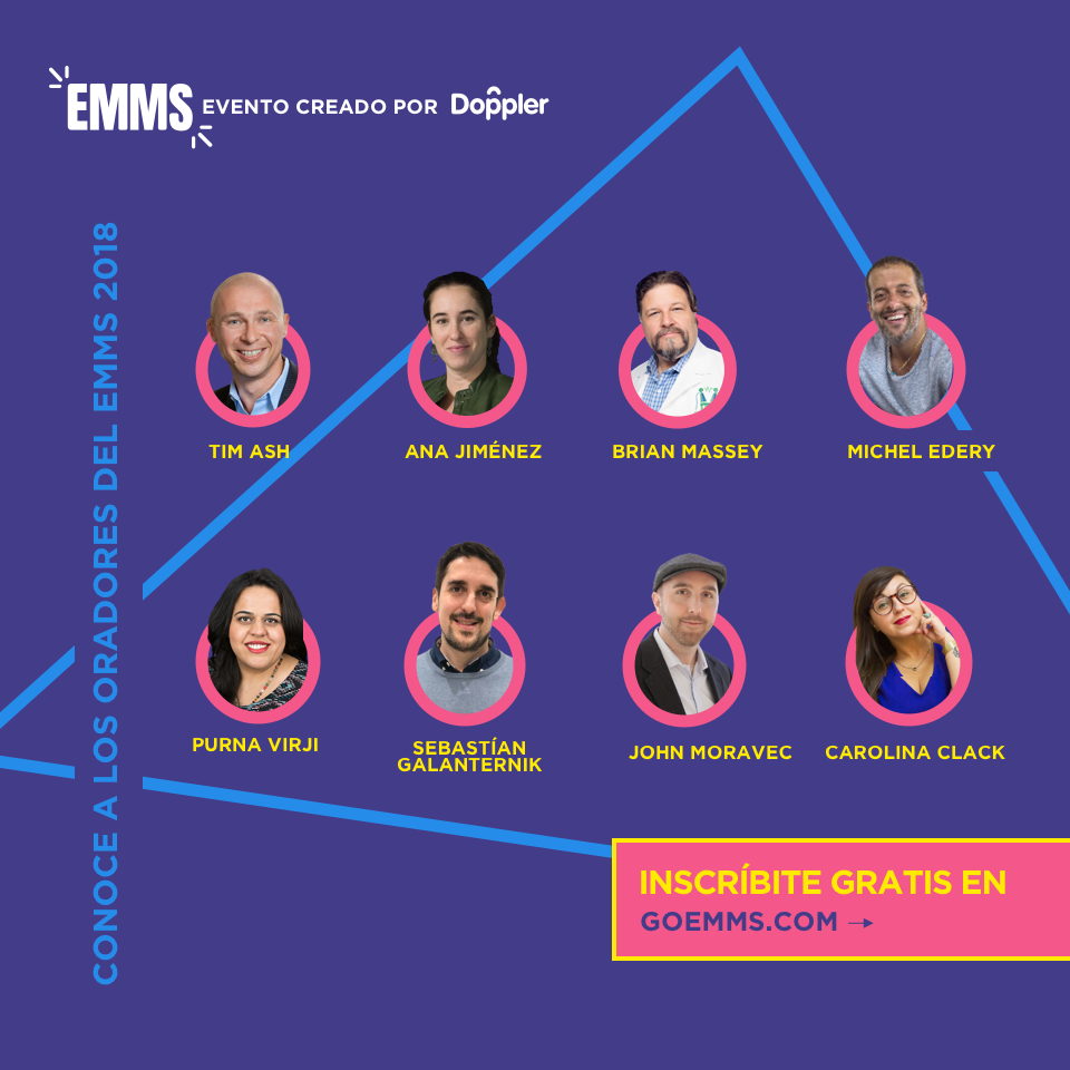 EMMS 2018: El evento online que reúne a los máximos referentes del Marketing Digital