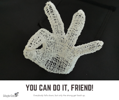Magic Cat 3D Pen Creation | OKAY Gesture