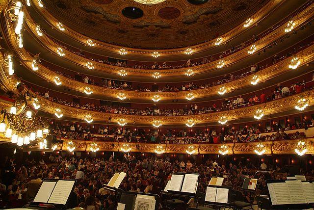 The Liceu Opera House, Barcelona