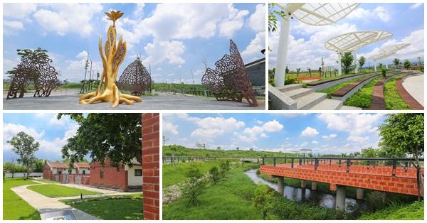 《台中.南屯》高鐵新市鎮生態公園|龍富生態公園|百年古蹟瑞成堂|大梵棧橋|大梵廣場