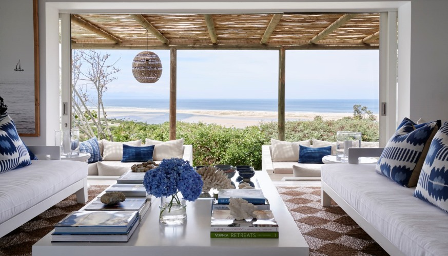 Indigo House in  Plettenberg Bay lagoon, South Africa
