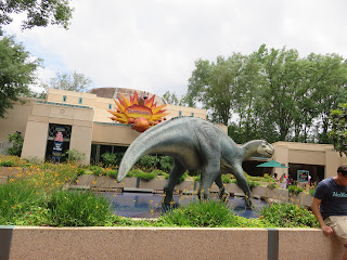 Iguanodon Statue Dinosaur Disney's Animal Kingdom