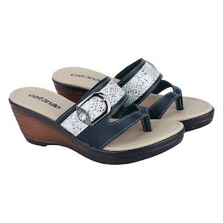 Sandal Wedges Wanita Catenzo TG 165