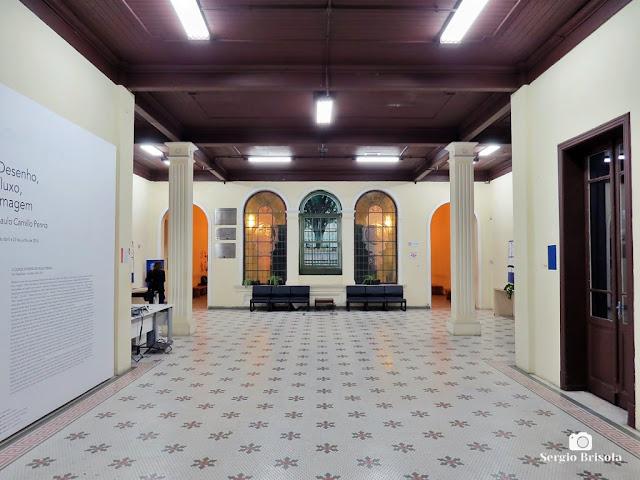 Vista do Hall de entrada da Oficina Cultural Oswald de Andrade - Bom Retiro - São Paulo
