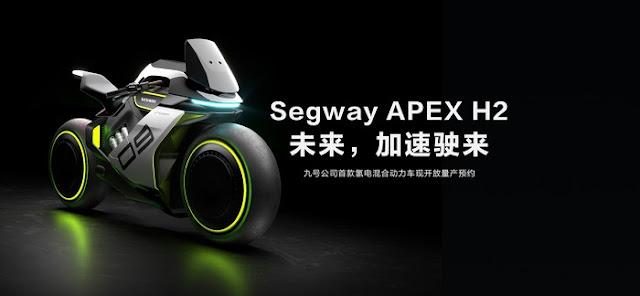Ini dia Motor dengan tenaga hidrogen, Apex H2