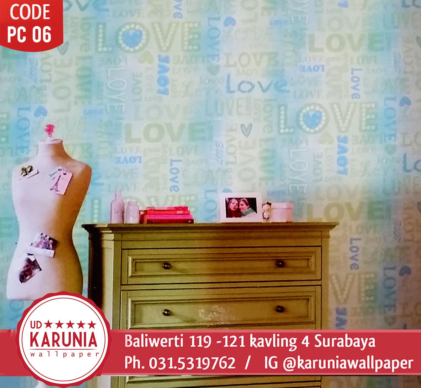 toko wallpaper dinding karunia baliwerti surabaya
