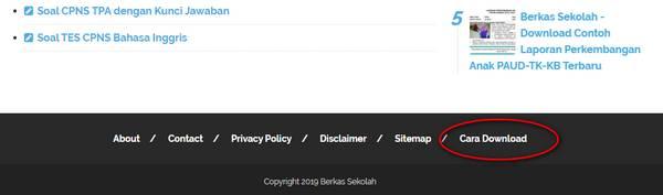 Cara Download di Berkas Sekolah