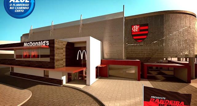 Est� nas m�os do Prefeito, diz diretor do Flamengo sobre Arena.