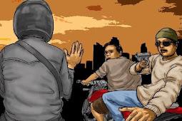 Begal Sadis di Sukabumi Bawa Kabur Motor CBR dan Tembak Korbannya