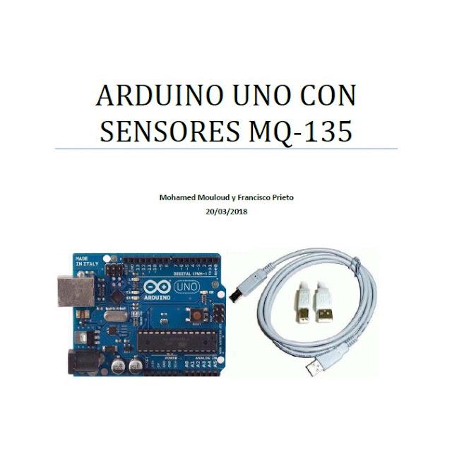 Arduino uno con sensor MQ-135