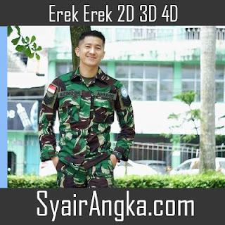 Erek Erek Menjadi Tentara 2D 3D 4D