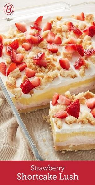 Strawberry Shortcake Lush Recipe
