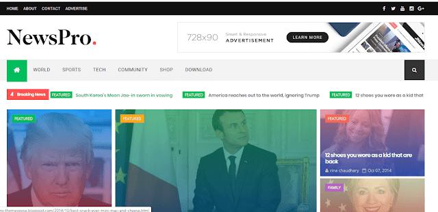 newspro-blogger-theme