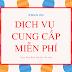 Các dịch vụ MIỄN PHÍ trên cộng đồng Khởi Nghiệp Việt Nam