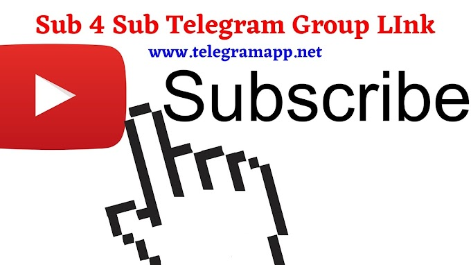 Sub 4 Sub Telegram Group Link