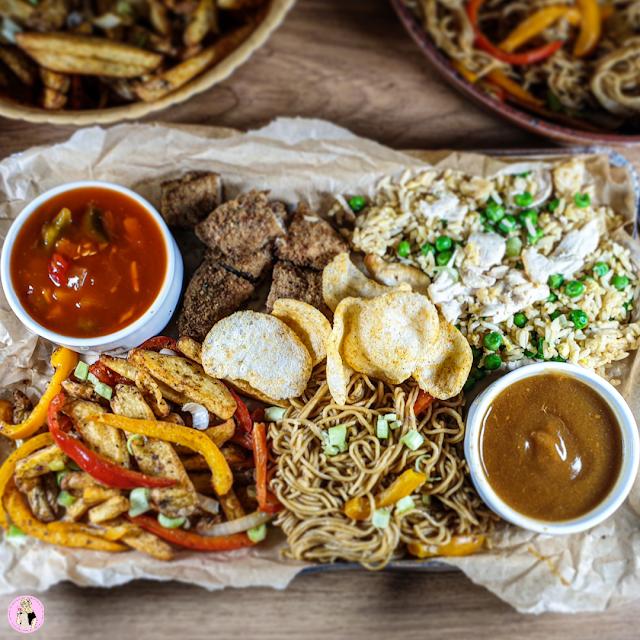 Chinese Fakeaway Platter Recipe   Slimming Friendly